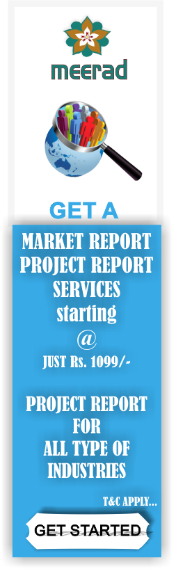 Market research services and project report preparation services starts just at Rs. 1099 | Visit www.meerad.in for more information.